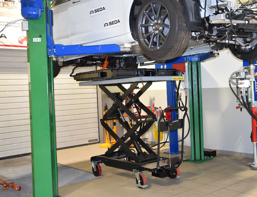Hubtischwagen2 - SEDA HV Lifting Table