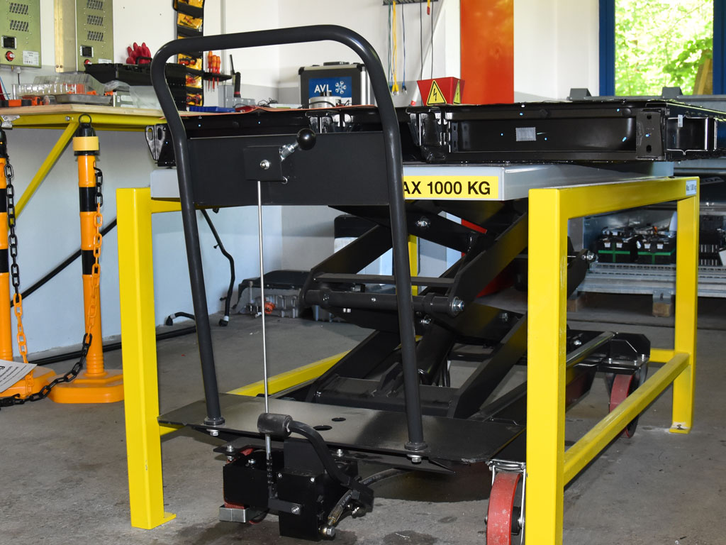Hubtischwagen4 - SEDA HV Lifting Table